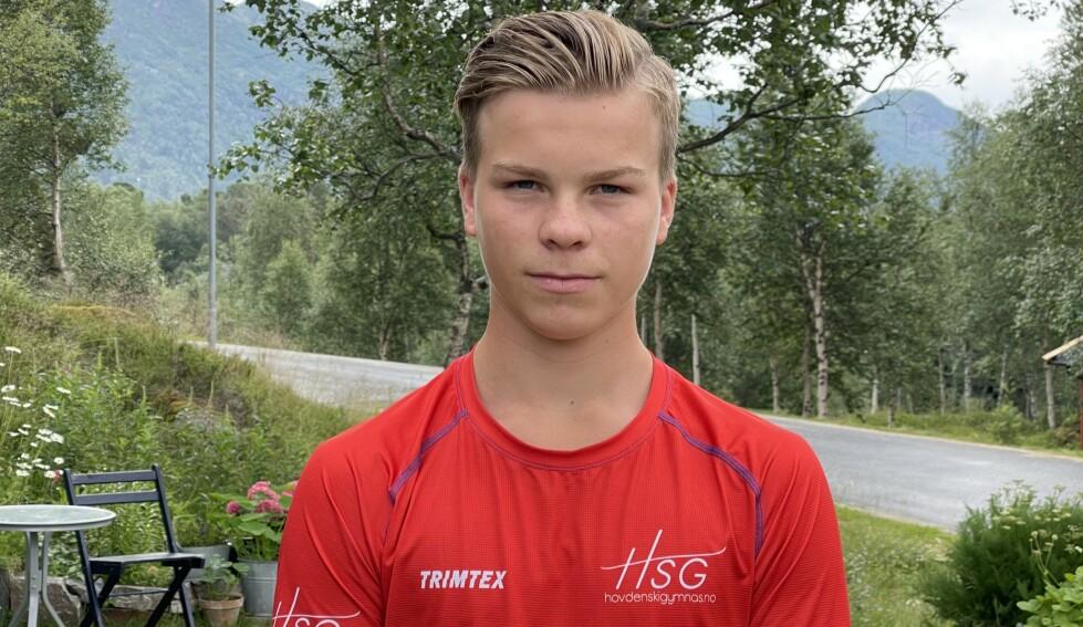 MULTITALENT: Marcus Enes-Seberg har flere gode resultater å vise til. Foto: Privat