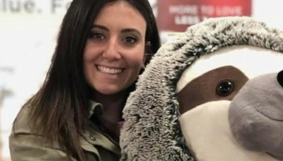 OFFER: Samantha Josephson ble i 2019 drept etter å ha satt seg i en bil hun trodde var Uber-turen hennes hjem. Foto: Gofundme