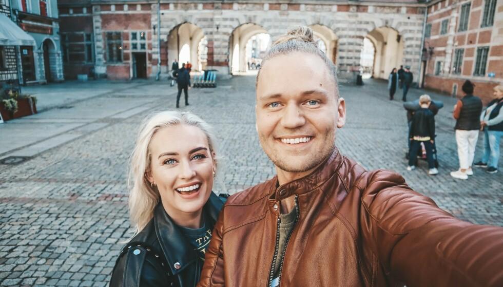 GLADNYHET: Morten Dalhaug og Andrea Sveinsdottir avslører at de har forlovet seg. Foto: Privat