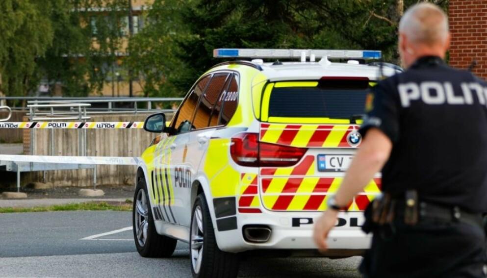 OMKOM: Ei jente ble hardt skadd i en ulykke i Gjerdrum onsdag kveld. Natt til torsdag døde hun av skadene. Foto: Martin Benedikt Sjue / Eidsvoll Ullensaker Blad