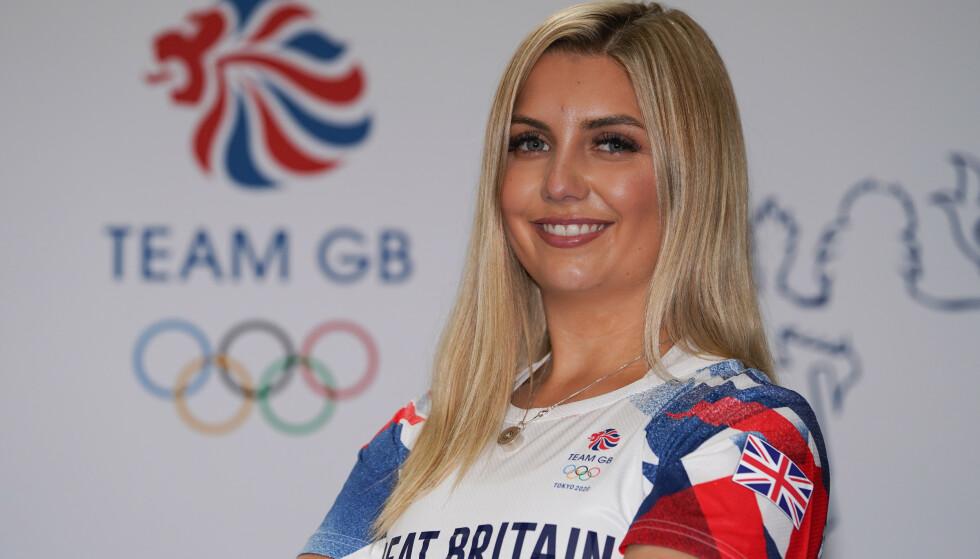 STOR NEDTUR: Verdensener Amber Hill får ikke konkurrere i OL. Foto: NTB