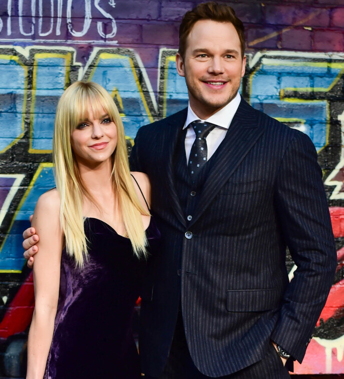 DIVORCE: Anna Faris was previously married to Chris Pratt.  Here the couple is pictured in 2017. Photo: Joanne Davidson / REX / NTB