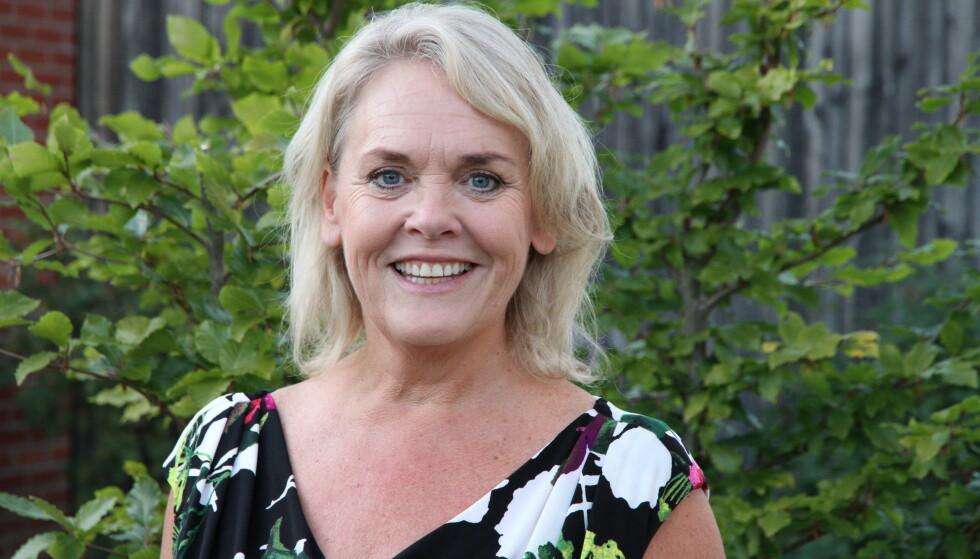 HELDIG: Inga Britt Kjellevold Haugen, forskningssjef i blindeforbundet, mener Bredeveien har vært heldig. Foto: Privat