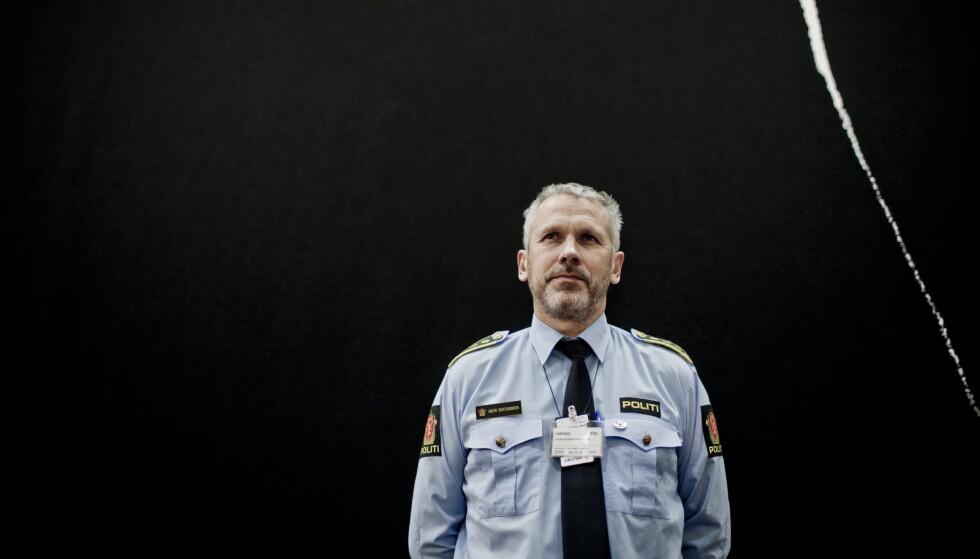 POLITIET: Sjef for beredskapstroppen, Anders Snortheimsmoen, ledet operasjonen da troppen gikk i land på Utøya i 2011. Foto: Stian Lysberg Solum / NTB