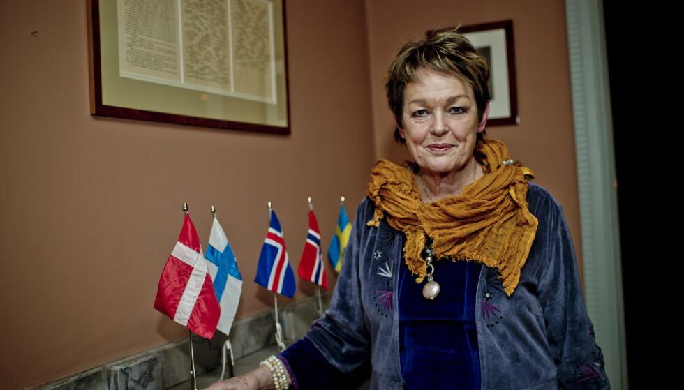 TEMPERAMENT: Etter to liknende hendelser har Ghita Nørby blitt mer kjent for sitt temperament enn skuespillerkarrieren. Nå forklarer bakgrunnen for utbruddet. Foto: Stian Lysberg Solum / NTB