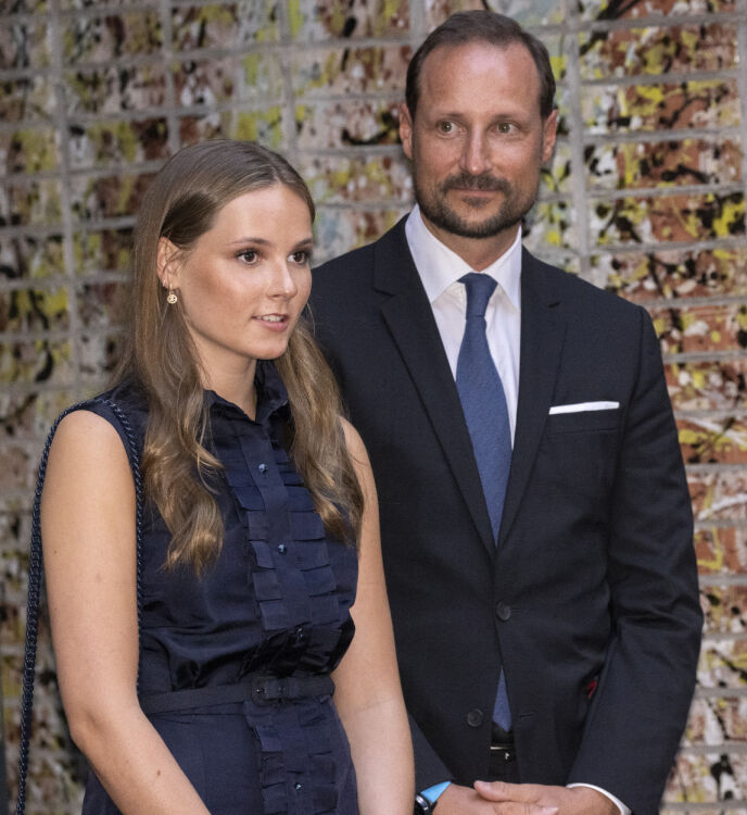 TRONARVINGER: Kronprins Haakon og prinsesse Ingrid Alexandra er nummer to og tre i arverekken, etter kong Harald. Foto: Andreas Fadum