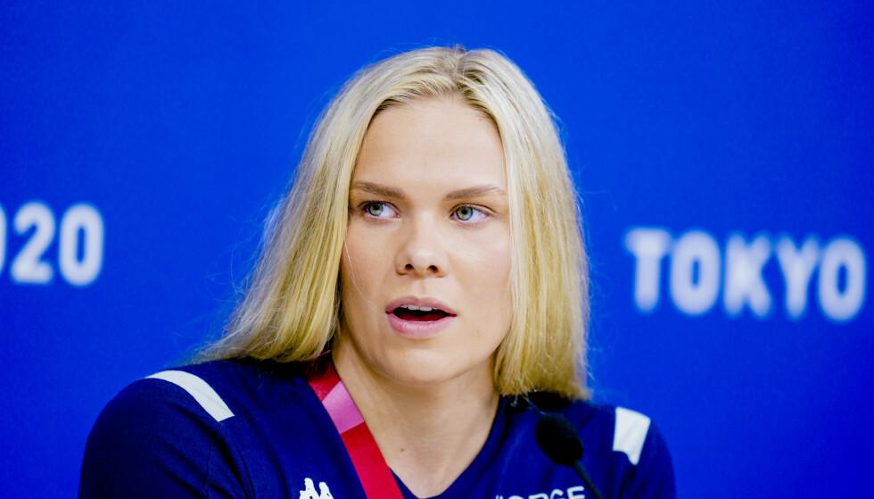 SYND: Svømmer Ingeborg Vassbakk Løyning mener det er synd at utøvere blir sendt hjem. Foto: NTB
