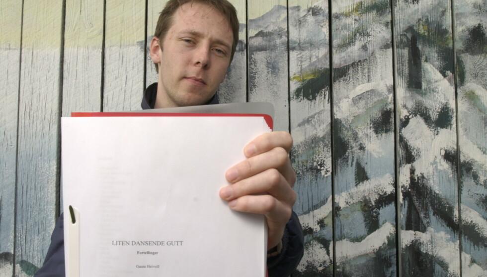 LANG KARRIERE: Gaute Heivoll debuterte som forfatter i en alder av 24 med sin første prosabok, «Liten dansende gutt». Etter 20 år og 25 bøker holder han fortsatt debuten opp som sitt stolteste karriere-øyeblikk. Foto: Agnete Brun / Dagbladet