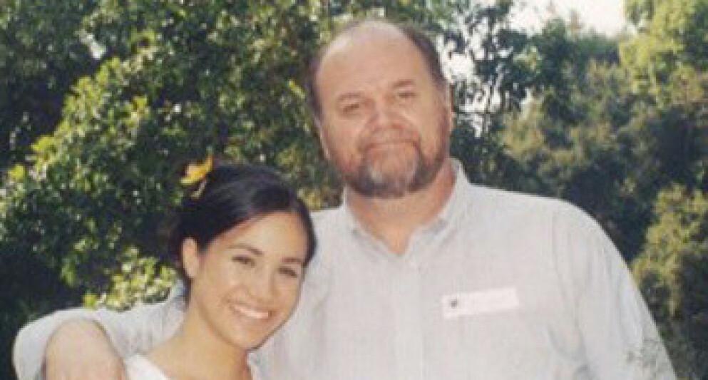 SØKSMÅL: Hertuginne Meghans far, Thomas Markle, ber nok en gang om å få møte barnebarna sine, til tross for at han angivelig ikke har kontakt med Meghan. Foto: Tim Stewart / SplashNews / NTB