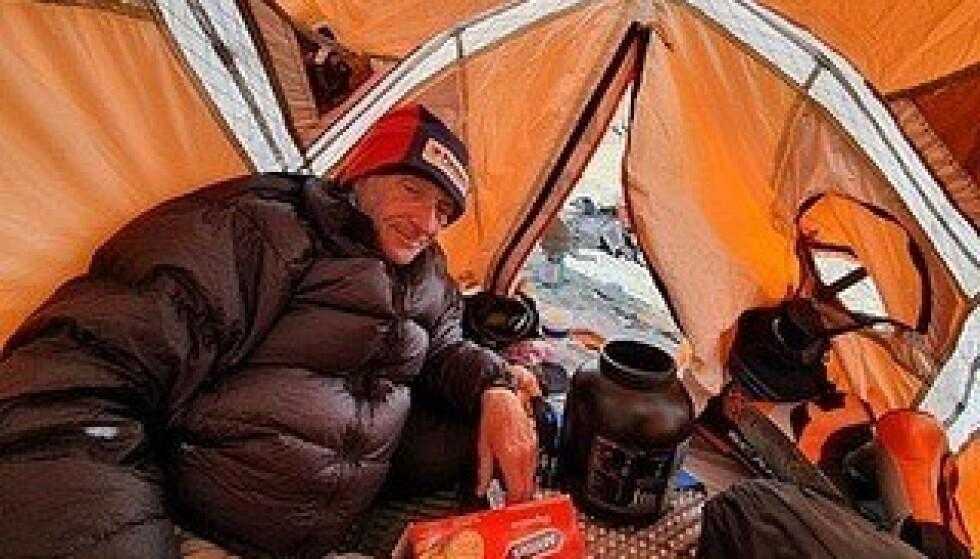 UPRØVD: Rick Allen døde da han prøvde å bestige K2 med en uprøvd rute. Foto: Partners Relif & Development UK / Facebook