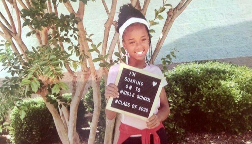 DØD: Loyalti Allah ble lørdag skutt og drept da hun satt ved et piknikbord ved en bygård i Monroe i Nord-Carolina. Foto: Loyalti Allah / Handout