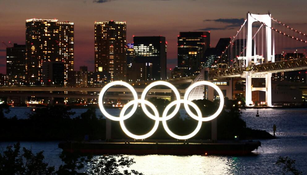 RINGENES BY: Tokyo-OL arrangeres i perioden 23. juli til 8. august. Foto: NTB