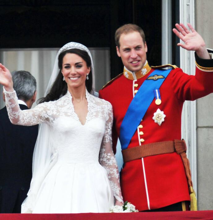 STORSLAGENT BRYLLUP: Hertuginne Kate og prins William giftet seg i 2011, men ville ikke ha Sarah Ferguson til stede. Foto: Alan Davidson/REX/NTB