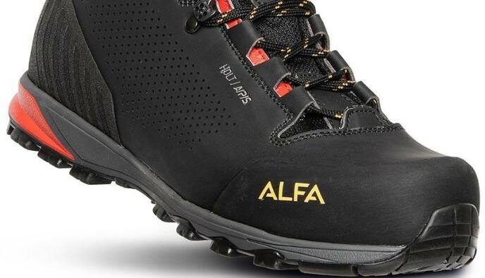 Alfa Holt har god ankelstøtte og veier bare 580 gram.