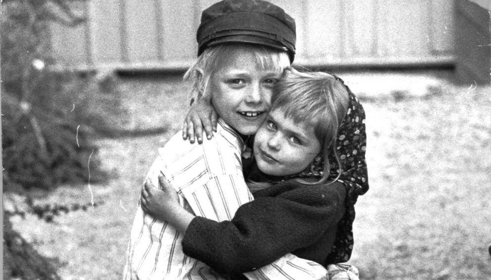 DEN GANG DA: Her er Jan Ohlsson i rollen som Emil og Lena Wisborg Candinger i rollen som Ida avbildet i 1971. Foto: Aftonbladet / NTB