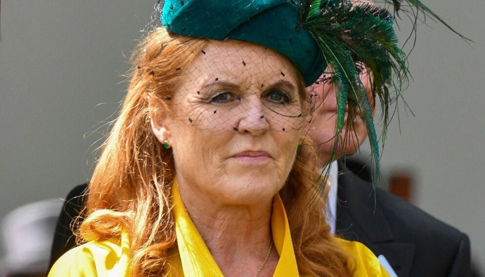 UTELATT: Sarah Ferguson fikk ikke delta i prinsebryllupet i 2011. Foto: Tim Rooke / Shutterstock Editorial / NTB