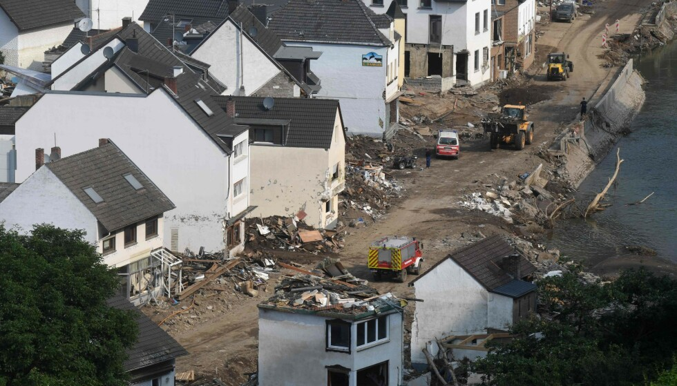 Disasters: Massive devastation after floods in Mesos in West Germany.  Experts hope to see more about this in the future.  Photo: Christoph Stach / AFP / NDP