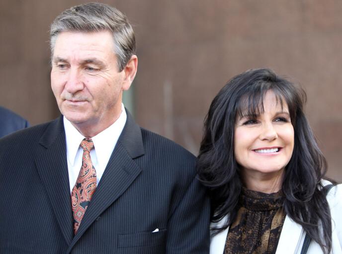 EKTEFELLER: Jamie og Lynne Spears var gift i 26 år. Nå er tonen en helt annen. Foto: REX/NTB