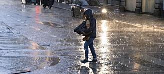 Våt og kjølig uke: Alle taper