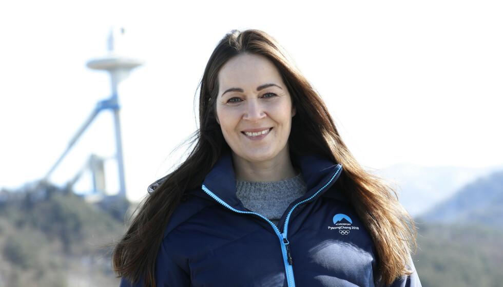 DIREKTØR: Hanne McBride er kommunikasjonsdirektør i Discovery. Foto: Erik Johansen / NTB