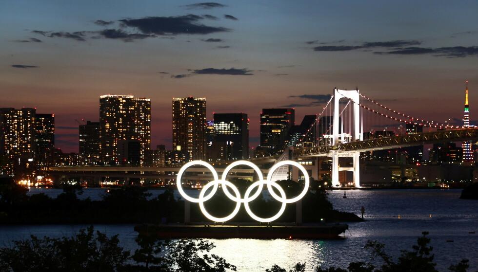 OL-BY: Tokyo arrangerer OL fram til 8. august. Foto: NTB