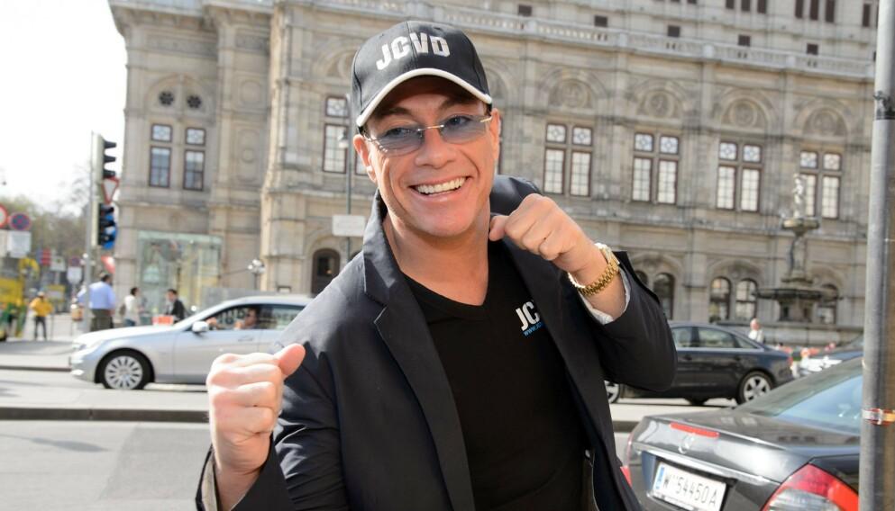 UHELDIG DISTRAKSJON: Jean-Claude Van Damme tok oppmerksomheten fra juveltyver i Paris. Foto: Rainer Eckharter/REX/NTB