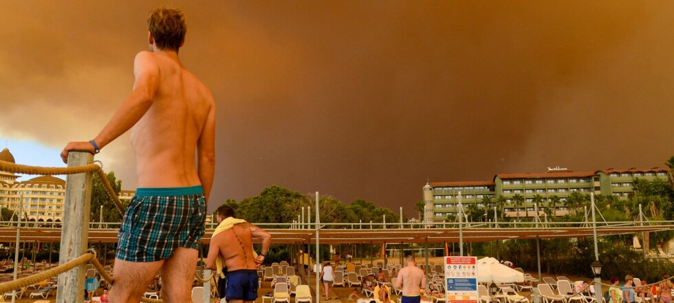 Verden drukner og brenner opp