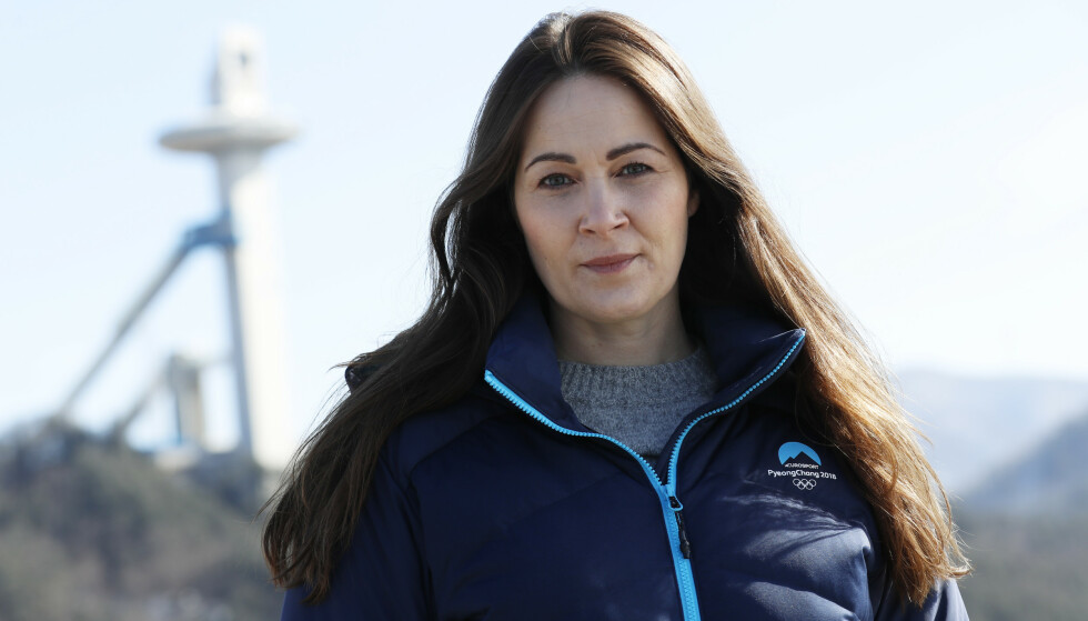 Mediesjef i Discovery, Hanne McBride, under vinter-OL i Pyeongchang.Foto: Erik Johansen / NTB