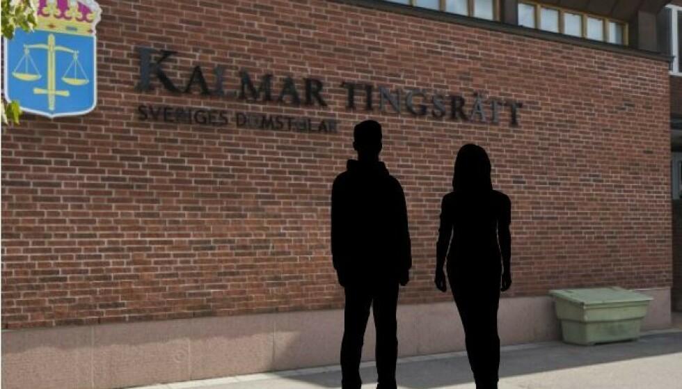 DØMT: Den kvinnelige førskolelæreren og hennes tidligere samboer er begge dømt i det som beskrives som en svært omfattende overgrepssak. Montasje: NTB/Kalmar tingrett