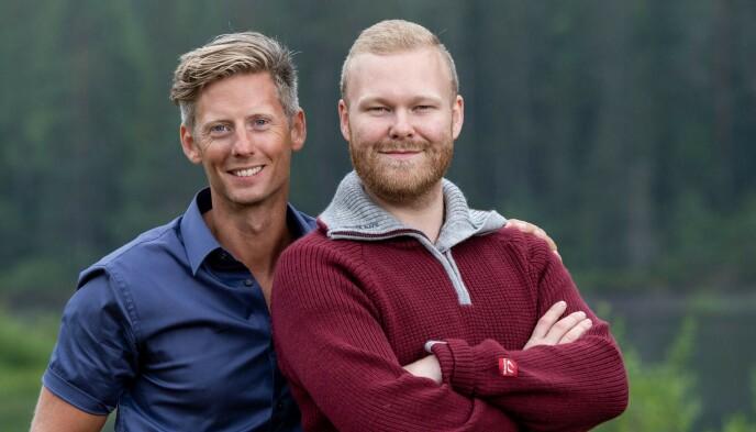 TV-VANDT: Mathias Scott Pascual deltok i «Farmen» i 2019, på et tidspunkt der Gaute Grøtta Grav fortsatt var programleder. Foto: Espen Solli / TV 2