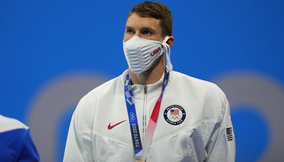 SKEPTISK: Ryan Murphy tror ikke russisk idrett er ren. Foto: Reuters / Aleksandra Szmigiel