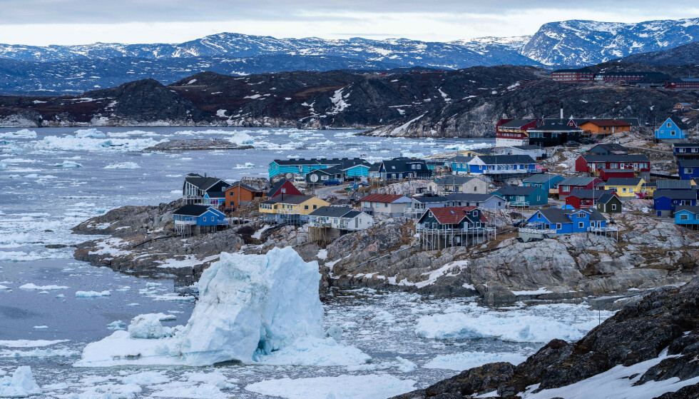 Climate change: Greenland has melted 100 billion tons of ice so far this year.  Photo: Ulrik Pedersen / NurPhoto / Shutterstock / NTB