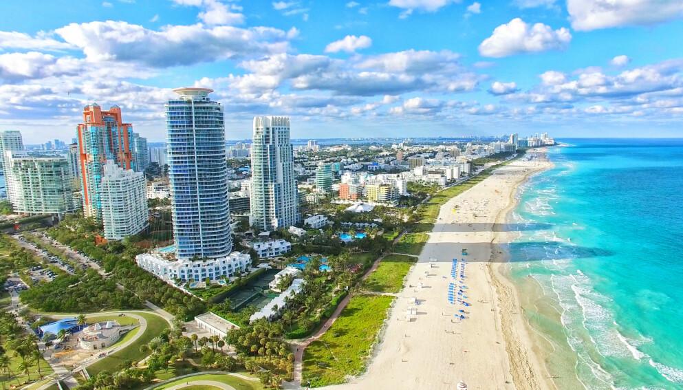 NYTT EPISENTER: Florida er USAs nye episenter. Foto: Shutterstock / NTB