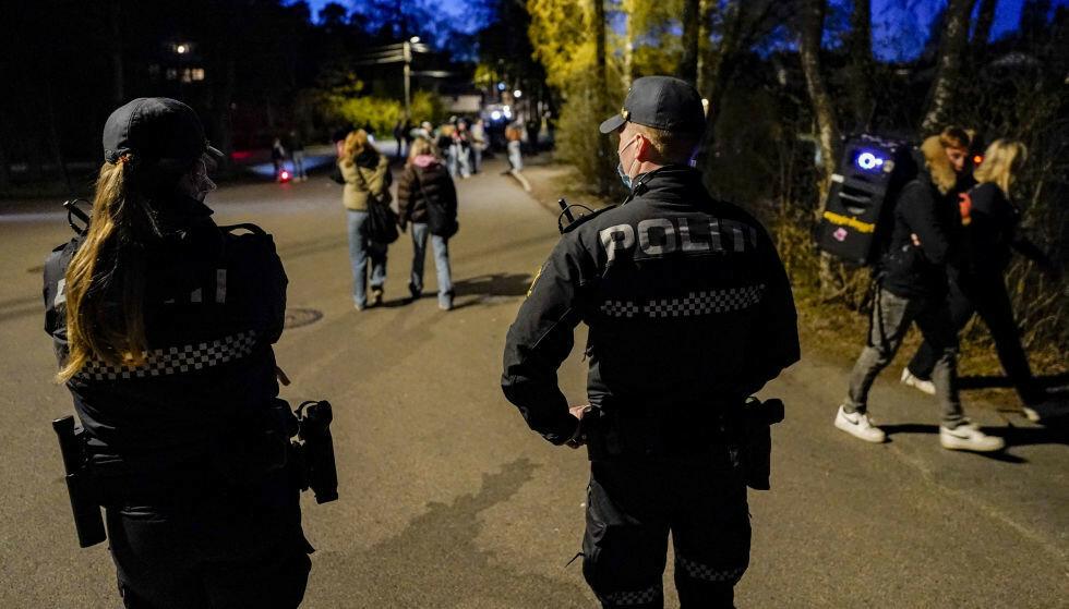 FESTBRÅK: Det er festbråk mange steder i landet natt til søndag. Illustrasjonsbilde: Håkon Mosvold Larsen / NTB