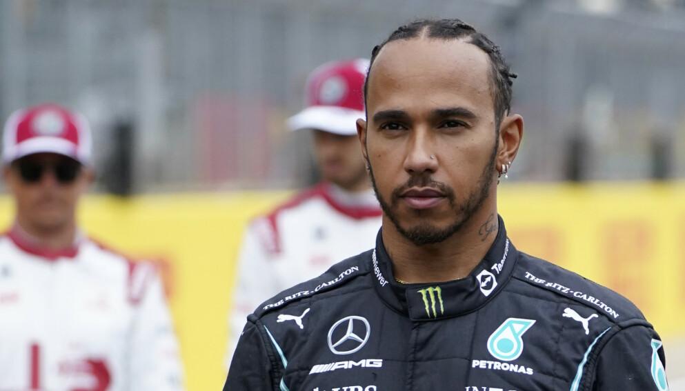 VEKKER OPPSIKT: Lewis Hamilton. Foto: AP Photo/Jon Super