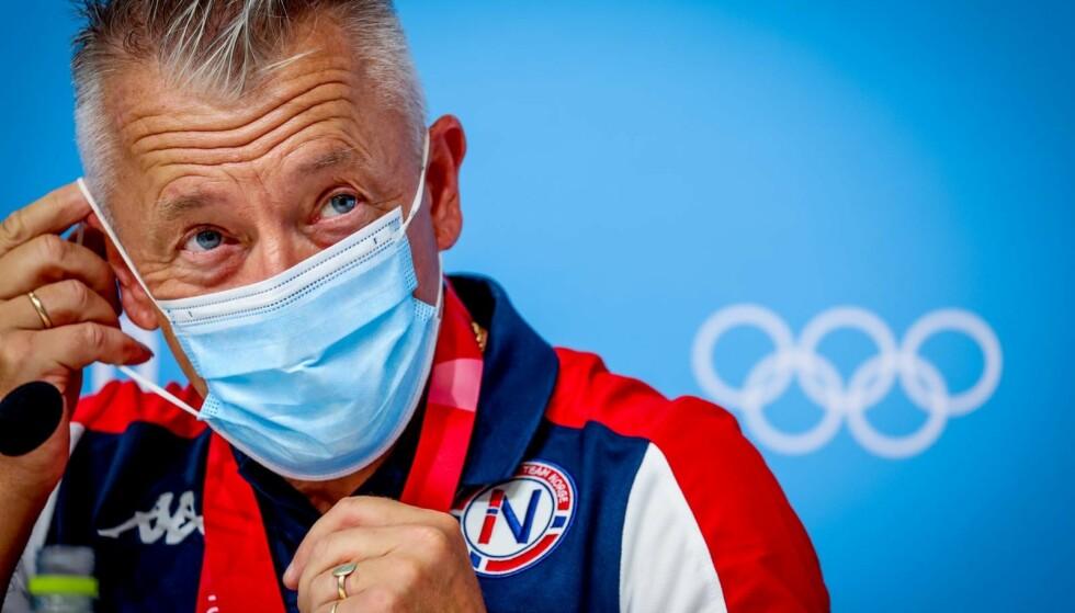SENIOR: Gjert Ingebrigtsen hevder han ikke har noe han skulle ha sagt i OL.