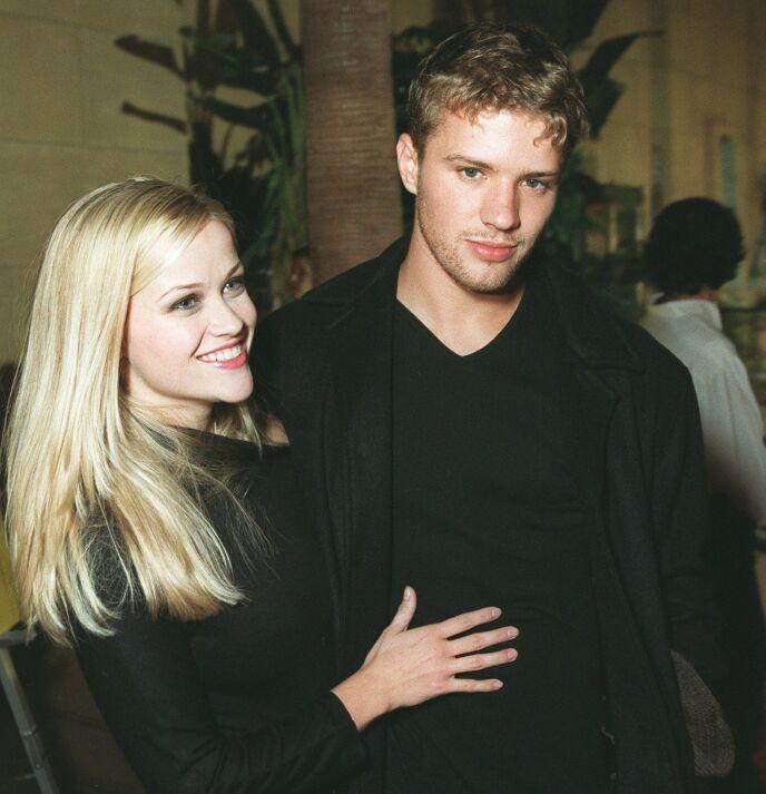 IT-PAR: Reese Witherspoon og Ryan Phillippe var i sin tid et av Hollywoods mest populære par. Sammen fikk de to barn, Ava og Deacon. Foto: Bei / REX / NTB