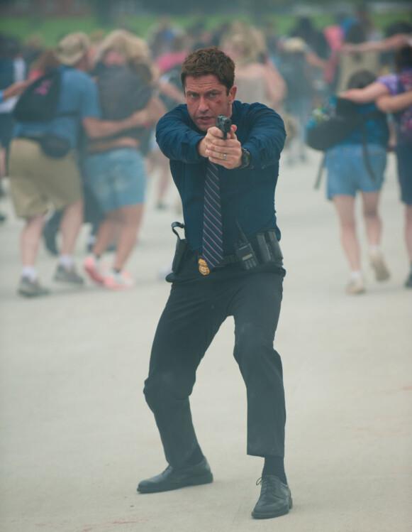AGENT: Gerard Butler i «Olympus Has Fallen». Foto: Moviestore /REX / NTB
