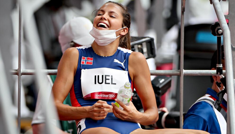 TIL SEMIFINALEN: Amalie Iuel skal ut i sitt livs viktigste løp i dag.