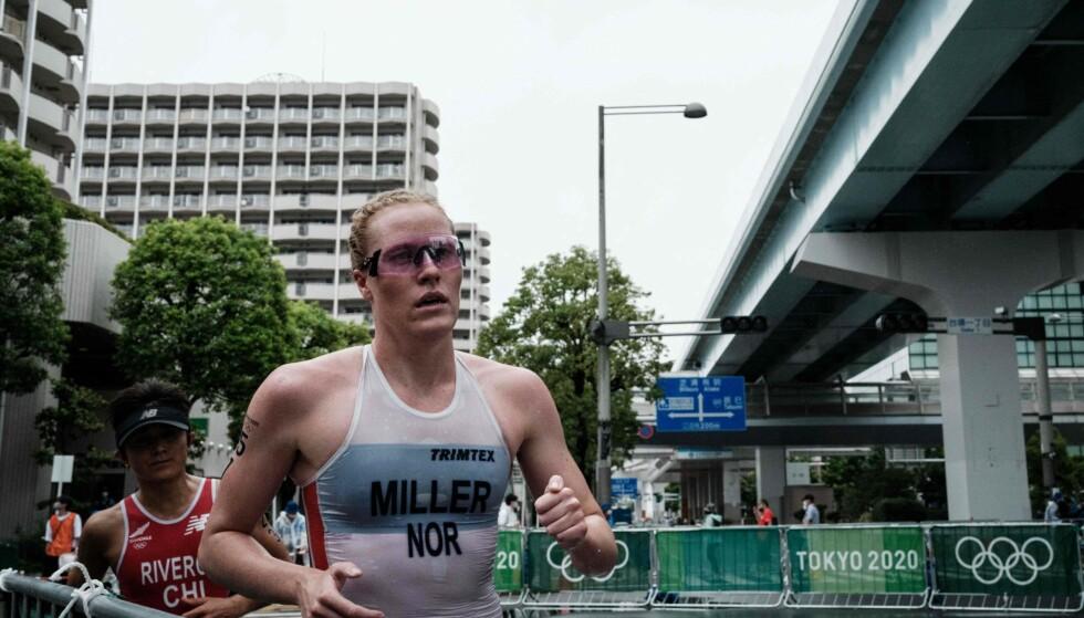 LOVORD: Lotte Miller får skryt fra sportssjef i Norges Triatlonforbund. Foto: Yasuyoshi Chiba / AFP / NTB