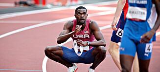 Rai Benjamin: - Beste løpet i OL-historien