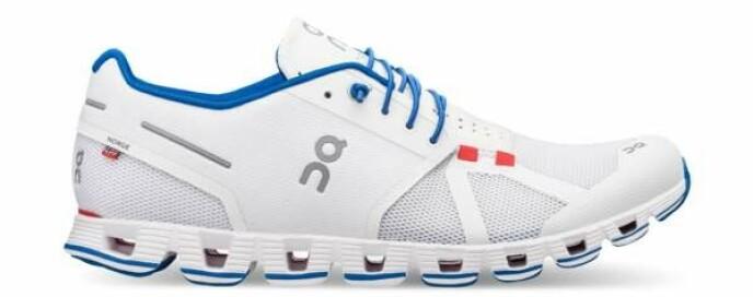 Den offisielle OL-skoen kommer også i denne fargevarianten.