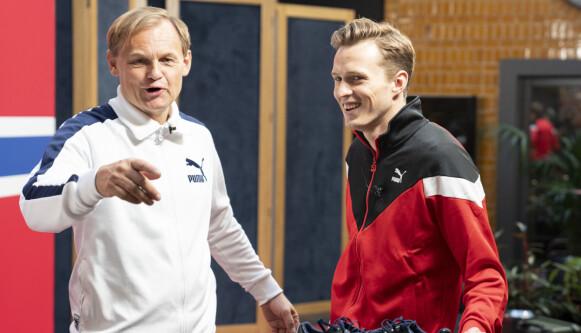 TOPPSJEF: Bjørn Gulden har fulgt nøye med på utviklingen av fottøyet til Karsten Warholm. Foto: Fredrik Hagen / NTB