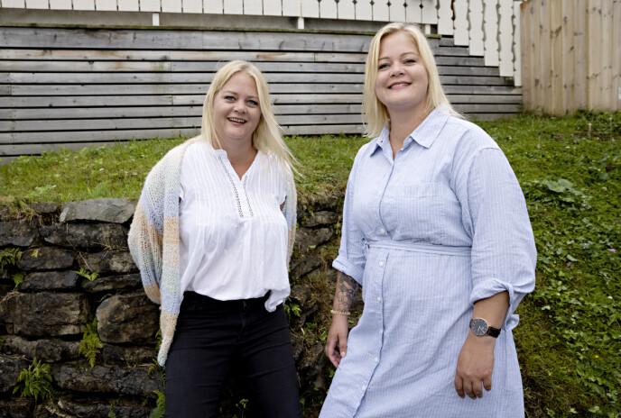 SINGLE: Både Trude og Trine stortrives med singeltilværelsen. Foto: Kristian Ridder-Nielsen/ Dagbladet