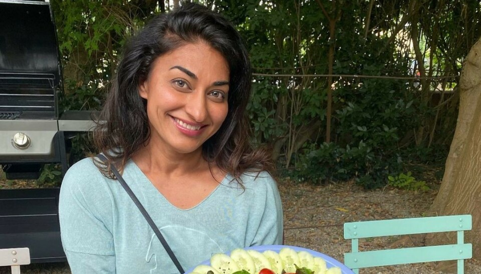 SKILLES: Standup-komiker og samfunnsdebattant Shabana Rehman skilles fra ektemannen. Foto: Privat