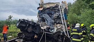 Togkollisjonen ryster: To døde og flere skadd