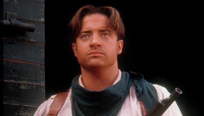 90-TALLSSTJERNE: Brendan Fraser er best kjent for sin rolle som Rick O'Connell i «Mumien»-triologien og var et stort navn i Hollywood på 90-tallet og begynnelsen av 2000-tallet før hans avskjed med rampelyset. Foto: NTB