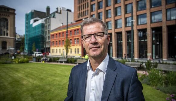 HELSEBYRÅD: Robert Steen (Ap), helsebyråd i Oslo, er optimistisk for høsten. Foto: Lars Eivind Bones / Dagbladet