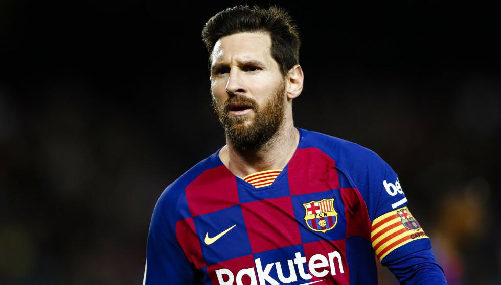FERDIG: Det blir ingen ny Barcelona-kontrakt for Lionel Messi. Foto: Xavier Bonilla/Shutterstock