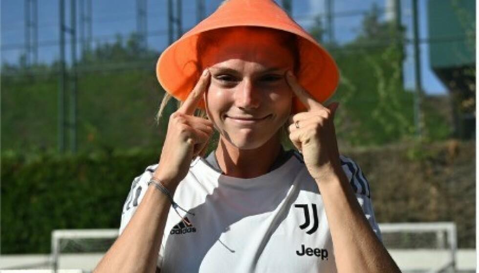 SKANDALEBILDE: Dette er bildet som Juventus presterte å publisere. Foto: Skjermdump Juventus Women